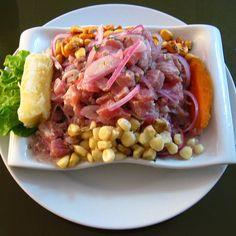 Plato típico peruano: el cebiche