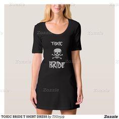 TOXIC BRIDE T SHIRT DRESS