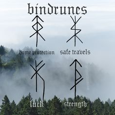 How to make a bindrune Bindrunes can be used for anything in life you're looking to receive help with. Saving money, protecting your home, finding love or a new job. Whatever intent you have, a bindru Image Tatoo, Symbole Tattoo, Rune Viking, Rune Symbols, Norse Runes Meanings, Viking Symbols And Meanings, Nordic Symbols, Nordic Runes, Symbols With Meaning