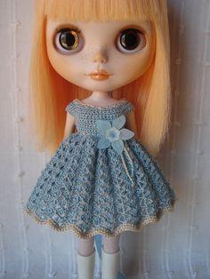 Blythe Beautiful Crochet dress