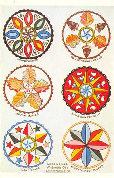 """Hex signs are a form of Pennsylvania Dutch folk art, related to fraktur, found in the Fancy Dutch tradition in Pennsylvania Dutch Barn paintings, usually in the form of """"stars in … Pennsylvania Dutch Country, Amish Country, Barn Signs, Barn Art, Scandinavian Folk Art, Barn Quilts, Amish Quilts, Book Of Shadows, Pin Collection"""