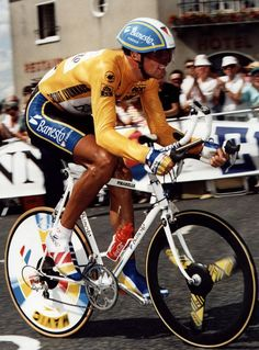 Miguel Induráin (16-7-1964) || Amateur Team(s): 1983-1984 Filial Reynolds || Professional Team(s):1984–1996 Reynolds/Banesto