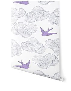 I am rather tired of this pattern (you see it EVERYWHERE) but at least it's a different color.  My daughter really loves it.  I'm considering it for an accent wall in her bedroom (in future house).