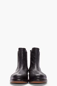 Rag & Bone Black Somerset Boot for women | SSENSE