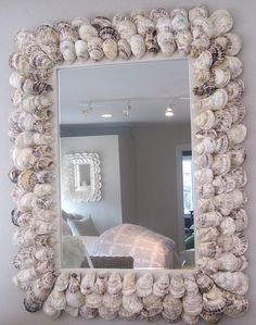 35'' x 45'' Custom Oyster Mirror