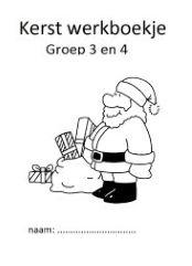 Altijd handig, een werkboekje met klaaropdrachten rondom Kerst voor je groep 3 of 4.