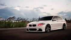 Highly modified new BMW 550 with Vossen wheels . Backgrounds Hd, Bmw White, Tuning Bmw, Bmw Wallpapers, Jet Skies, Bmw Series, New Bmw, Angel Eyes, New Poster