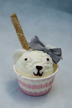Hostess with the Mostess® - Ice-cream party: Beary cute scoop