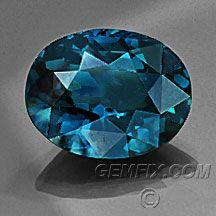 5.18 carat teal blue spinel no treatment $1995 Gemfix