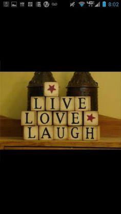 Live..laugh..love.. blocks