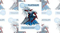 Il platino è uno dei metalli più costosi al mondo.