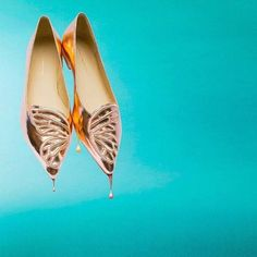 These Sophia Webster flats are dripping in gold! Shop the collection @LUISAVIAROMA.COM from @LUISAVIAROMA.COM's closet