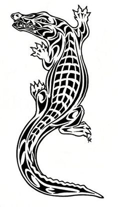 A VERY Well Done And Good Alligator Or Crocodile Tattoo Will Cost