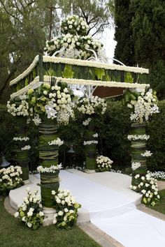 Unique, Floral Gazebo with Greenery Hotel Wedding, Chic Wedding, Wedding Canopy, Wedding Designs, Wedding Styles, Wedding Ideas, Wedding Inspiration, Design Inspiration, Altar