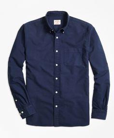 Supima® Cotton Sport ShirtNavy