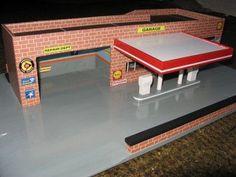 Toy garage.