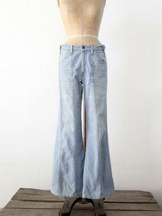 vintage Levis bell bottoms / waist 34 - 86 Vintage