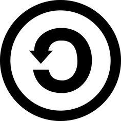 Share Alike, Creative Commons, Cc, Characters, Symbol