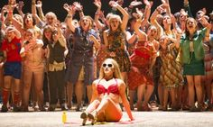 A scene from Carmen by Bizet @ London Coliseum. English National Opera production directed by Calixto Bieito. Conducted by Ryan Wigglesworth.