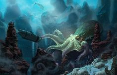 Image result for undersea paintings