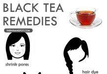 AMAZING BENEFITS AND REMEDIES USING BLACK TEA