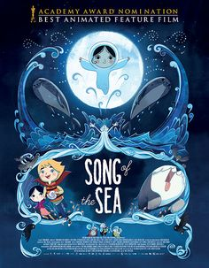 Song of the Sea soundtrack from composed by Bruno Coulais, Kila, Nolwenn Leroy. Released by Decca Records in 2014 containing music from Song of the Sea (Le chant de la mer) The Sea Movie, Song Of The Sea, Das Geheimnis Von Kells, The Secret Of Kells, Soundtrack, Sea Pictures, I Love Cinema, Film D'animation, Film Song