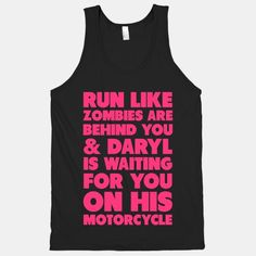 Run Like Daryl is Waiting #fitness #running #run #workout #funny #zombies #parody #daryl