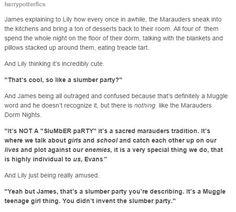 Marauders' slumber party
