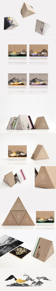 Corphes is Bringing Freshness From the Top of the Peak — The Dieline - Branding & Packaging Design