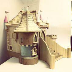 This is the model for Pretty Princess Castle playhouse. We usually build one for all of our designs.