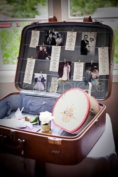 Keep loved ones in mind by displaying old family wedding photos in our delightful old fashioned suitcase. Wedding Props, Wedding Candy, Wedding Signage, Wedding Ideas, Wedding Stuff, Old Suitcases, Wishing Well, Vintage Country, Photo Displays