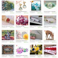 Visions of Spring treasury - exquisite creations from artisans of the Promo Frenzy team and the STATteam