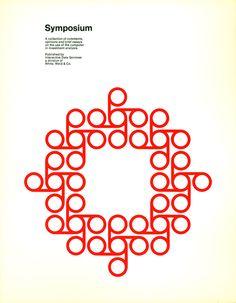 poster by Chermayeff & Geismar Type Design, Design Elements, Logo Design, Branding And Packaging, Packaging Design, Graphic Design Typography, Graphic Design Illustration, Grid, Buch Design