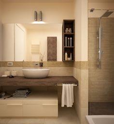 BATHROOM by Giovanni Baschetti, via Behance