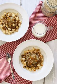 Apples and Cinnamon Breakfast Quinoa