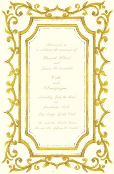 Odd Balls Invitations :: Product Information :: PUCE FRAME