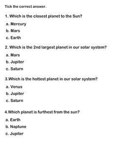 Solar system worksheet 2 science worksheets grade 1 worksheets worksheets for grades 1 and 2 worksheets for grade 1 science worksheets printable worksheets ibookread Read Online