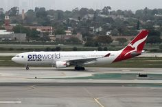 https://flic.kr/p/9GrNra | Special Livery, Qantas Airlines - One World. Airbus A330-200 | Airbus A330-200 Qanta One World LAX April 2, 2011
