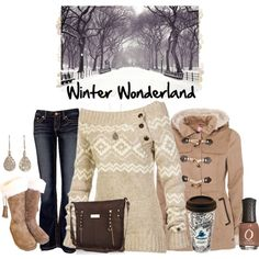 Winter Wonderland, created by ggulan on Polyvore
