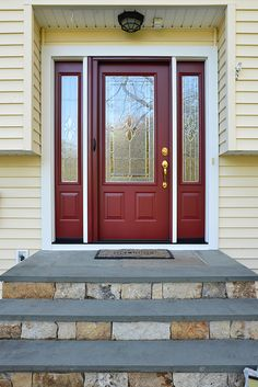 Check out some of the beautiful entry doors our partners at Provia ...