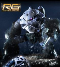 GUNDAM GUY: P-Bandai Exclusive: RG 1/144 Z'Gok Mass Production Ver. - Official Promo Images