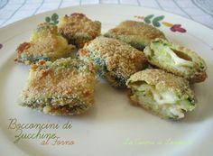 Bocconcini di Zucchine al forno | La cucina di Loredana