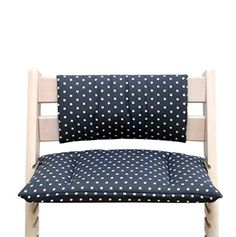 Blausberg Baby - Cushion Set Junior for Tripp Trapp High Chair of Stokke - Dark Grey Star Baby Set, Tripp Trapp Chair, Baby Sewing, Foot Rest, Chair Cushions, Dark Grey, Accent Chairs, Kids Room, Comfy