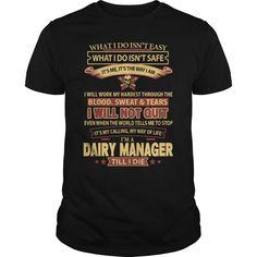 (Tshirt Order) DAIRY-MANAGER [TShirt 2016] Hoodies, Funny Tee Shirts
