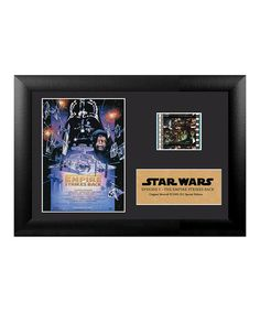 This Star Wars 'Empire Strikes Back' FilmCell Framed Wall Art by Star Wars is perfect! #zulilyfinds