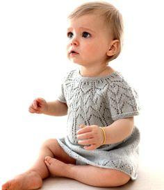 Rochie tricotata pentru fetite