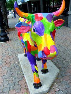 Cows on Parade - Spring Cow  [per previous pinner]