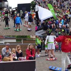 Duco Kaufmann & Jesper Brinkman giving MoveQ Board clinics at Swedish Open, ATP & WTA tennis tournament Kids Day in Båstad, Sweden 2016. Teaching the kids to rock, wobble, tilt, walk, spin, slide and tricks to boost their motor development. #moveq #mq #3dfunction #feelbetter #movebetter #performbetter #move #learn #grow #live #playful #fun #challenge #success #fun2move #cool2move #master2move #motordevelopment #cognitivedevelopment #scientificbased #measurable #head #ultimateinstability…