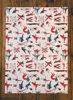 Nobrow Wrapping Paper by Golden Cosmos