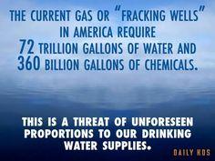 Fracking is very dangerous!!